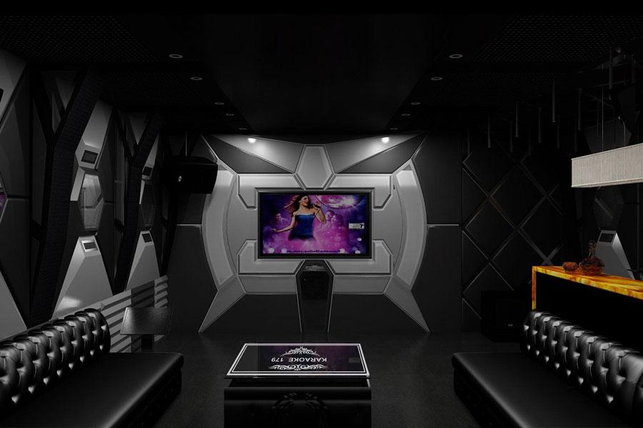 thiết kế thi công karaoke tại vinhome greenbay 23