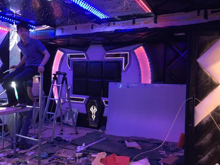 thiết kế thi công karaoke tại vinhome greenbay 5