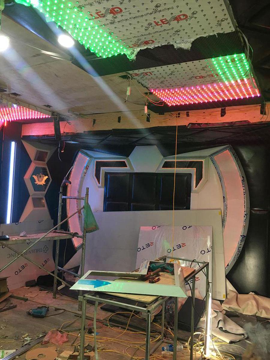 thiết kế thi công karaoke tại vinhome greenbay 6