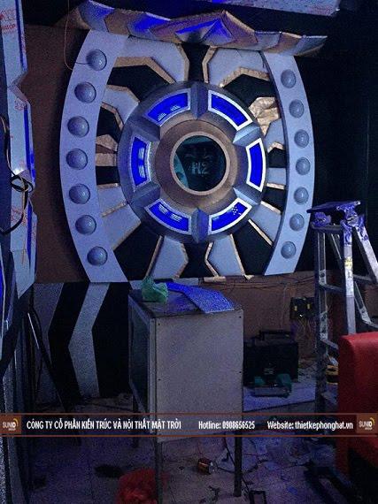 Hình ảnh thi công thực tế quán Karaoke Vip tại Hà Nội - View 3
