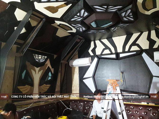 Hình ảnh thi công thực tế quán Karaoke Vip tại Hà Nội - View 5