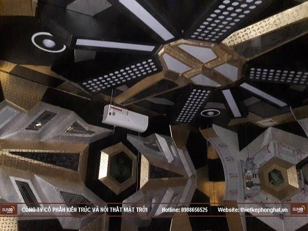 Hình ảnh thi công thực tế quán Karaoke Vip tại Hà Nội - View 2