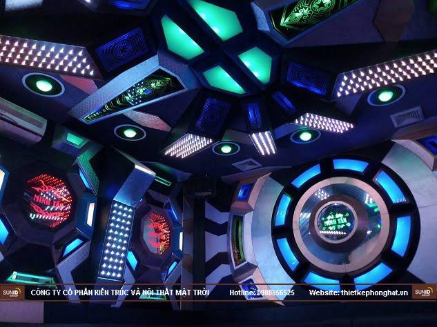 Phòng hát Karaoke có thiết kế độc, lạ sẽ giúp bạn níu kéo được nhiều khách hàng quay lại với quán
