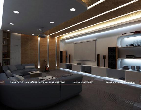 Thiết kế phòng Karaoke gia đình uy tín chất lượng tại Hà Nội