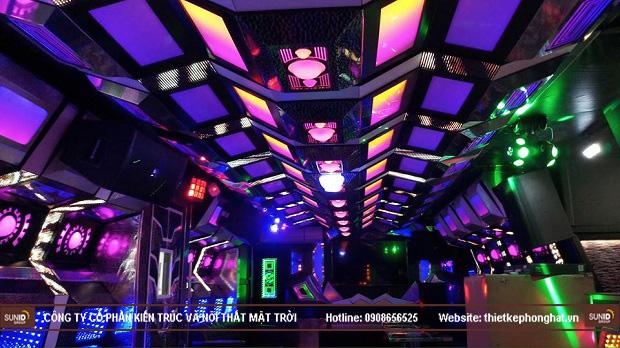 Diện tích mặt bằng phòng karaoke từ 20m2 trở lên