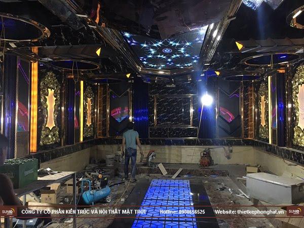 Thi công quán karaoke ở Bắc Ninh