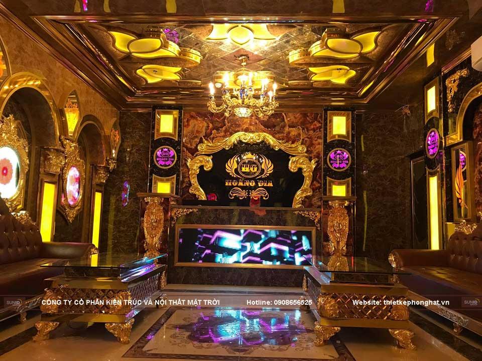 Không gian quán Karaoke Hoàng Gia Hà Nội