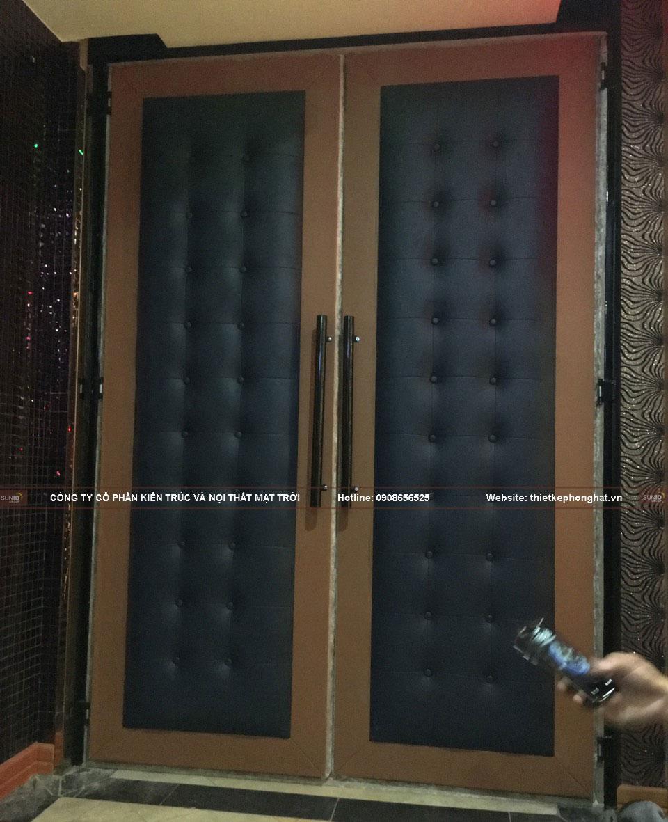 Lắp đặt và tét thử cửa cách âm