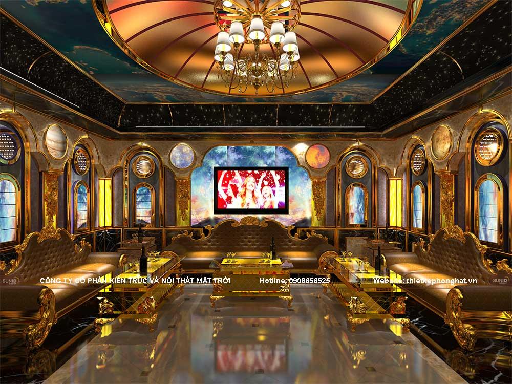 Không gian phòng hát karaoke đẹp, lạ mắt sẽ cho bạn những trải nghiệm thú vị