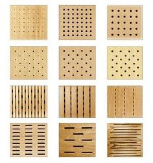 Báo giá gỗ tiêu âm đục lỗ - Địa chỉ bán vật liệu cách âm giá rẻ