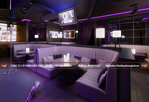 Bộ ghế sofa quán karaoke club