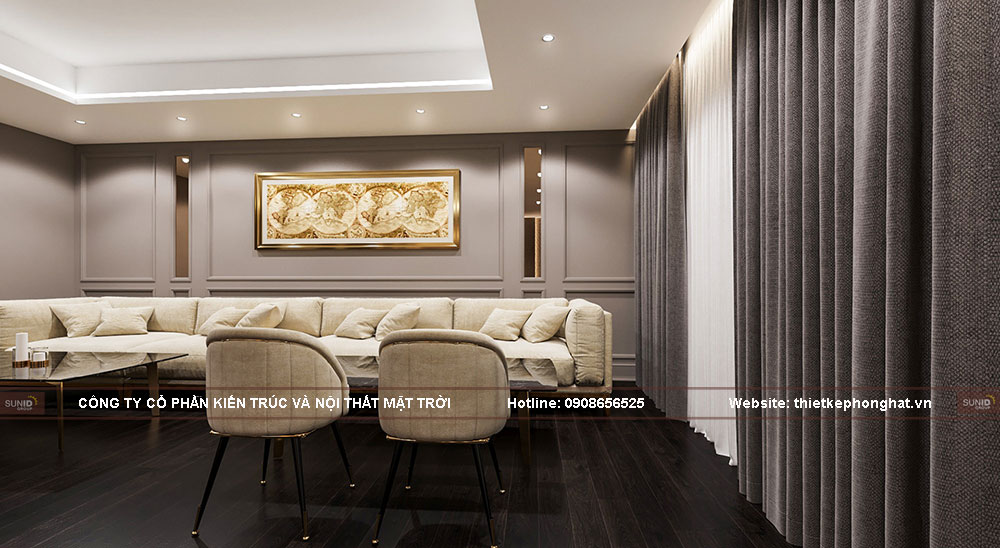 Thiết kế đầy đủ nội thất tiện nghi