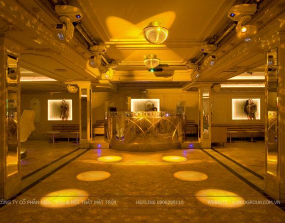 Thiết kế thi công nội thất quán bar vip tại Hà Nội