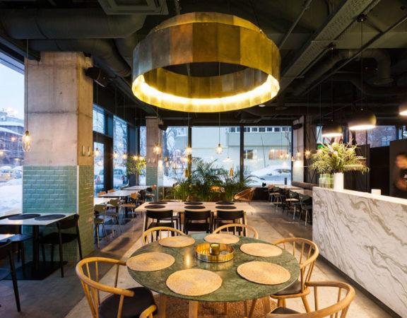báo giá thiết kế thi công nội thất quán cafe1