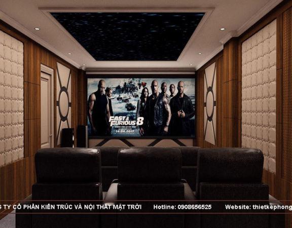 tư vấn thiết kế phòng xem phim gia đình 2