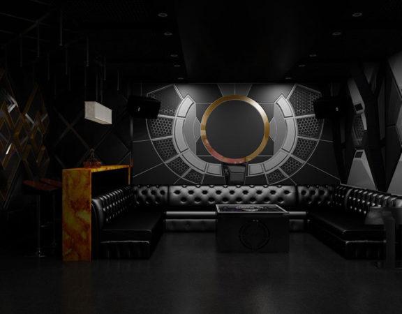 thiết kế thi công karaoke tại vinhome greenbay 7