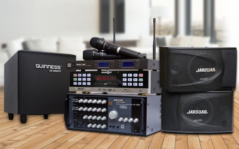 Nguyên lý thiết kế hệ thống âm thanh phòng hát karaoke gia đình